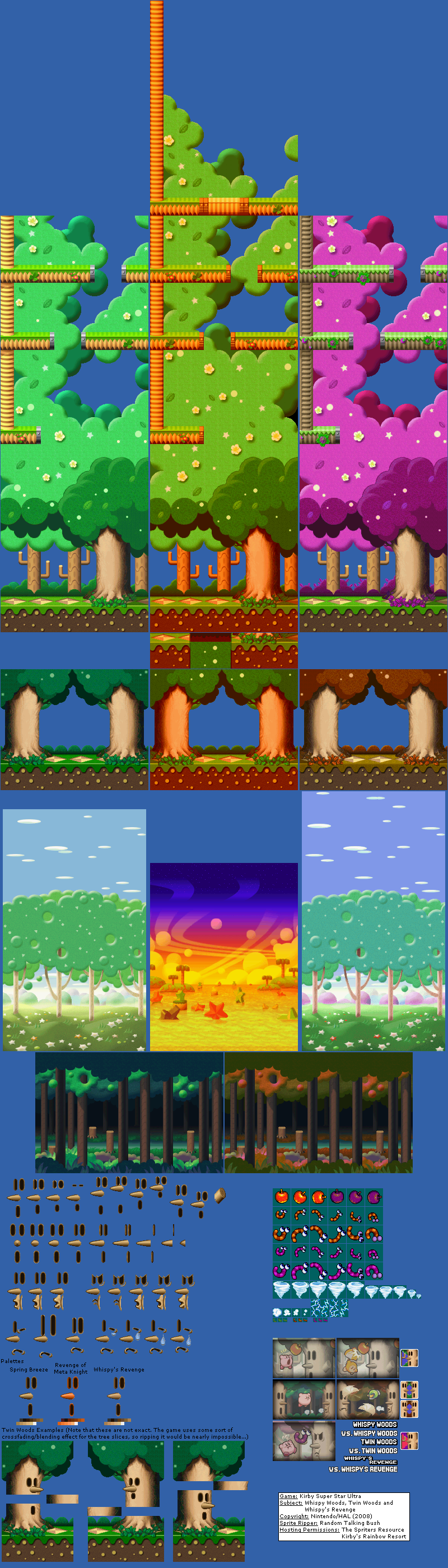 Whispy Woods / Twin Woods