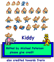 Kiddy Kong (Donkey Kong: King of Swing-Style)