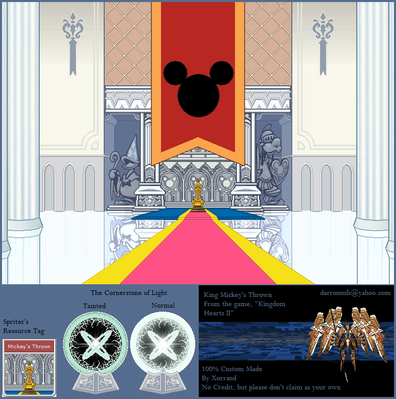 Mickey's Throne