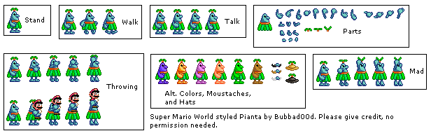 Piantas (Super Mario World-Style)