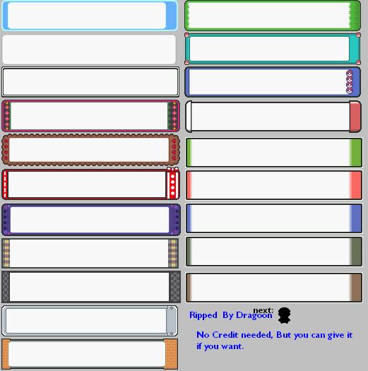 Blank Pokemon Text Box Images : Pokemon Images
