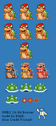 Bowser (Super Mario Bros. 2 SNES-Style)