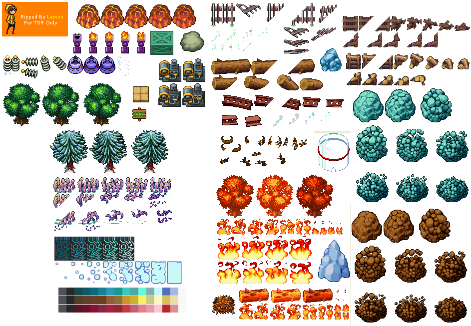 Overworld Objects (Set 2)