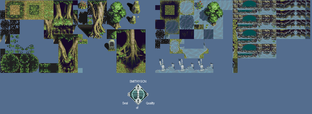 Spirit Forest Tileset