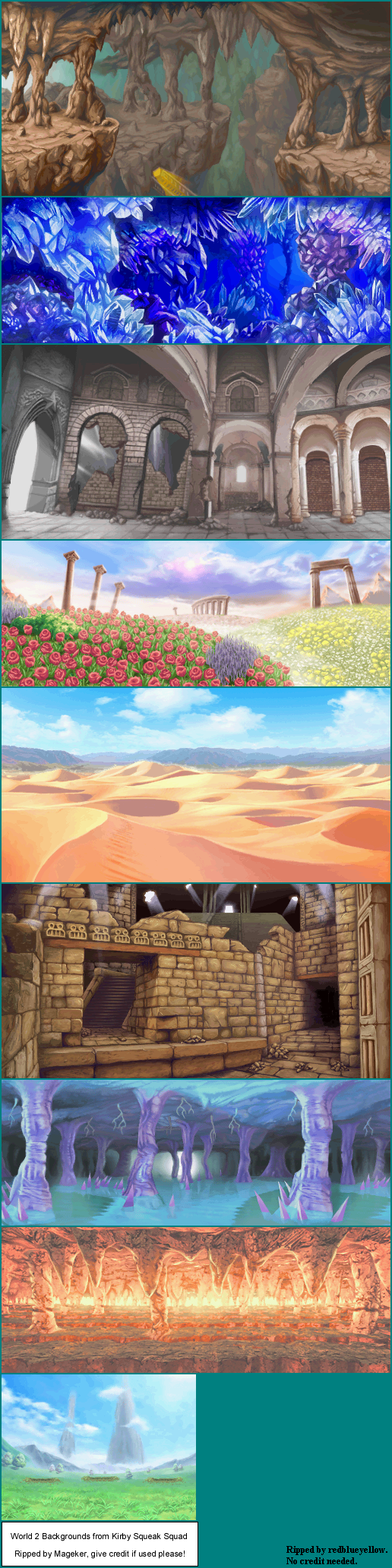 World 2 Backgrounds