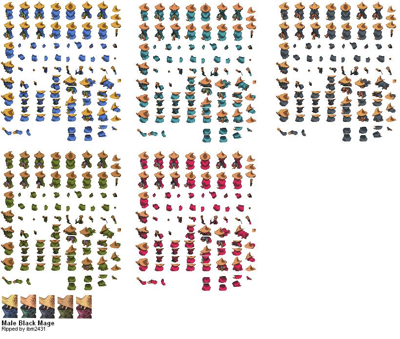 Final Fantasy Tactics Sprite Editor - softtv-softlt