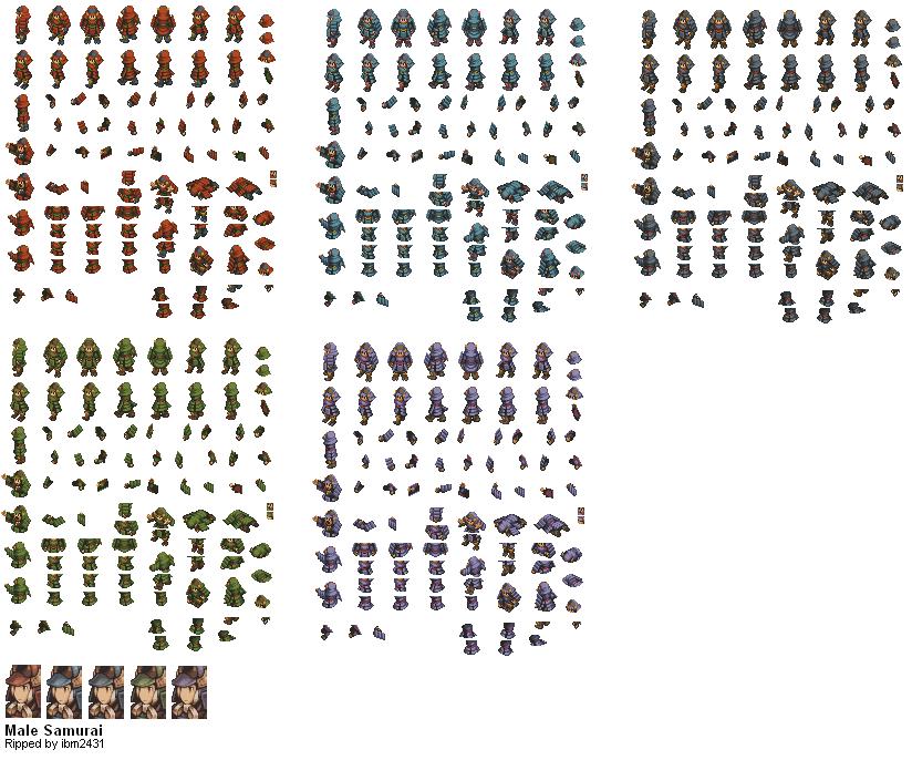 Final Fantasy Tactics Sprite Images