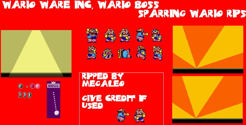 Sparring Wario