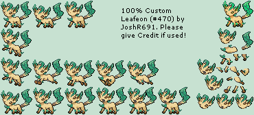 #470 Leafeon
