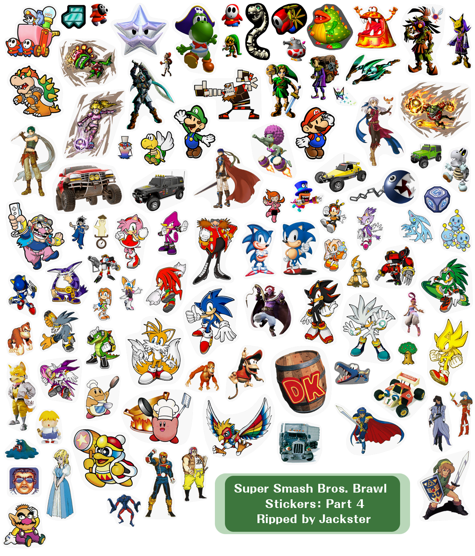 Brawl Stickers | TeePublic
