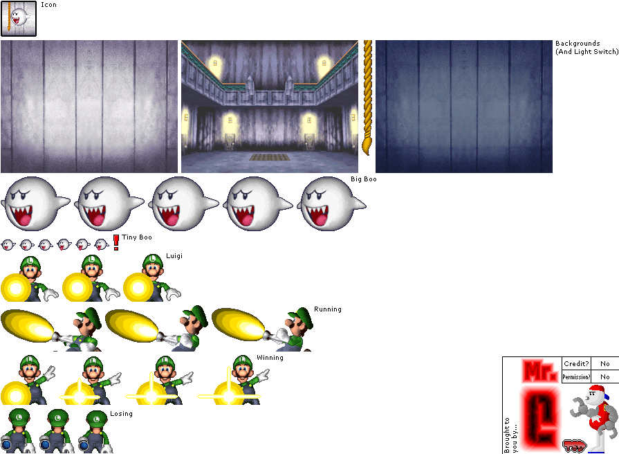 The Spriters Resource Full Sheet View New Super Mario