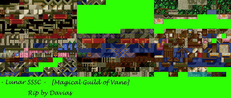 Magical Guild Tiles