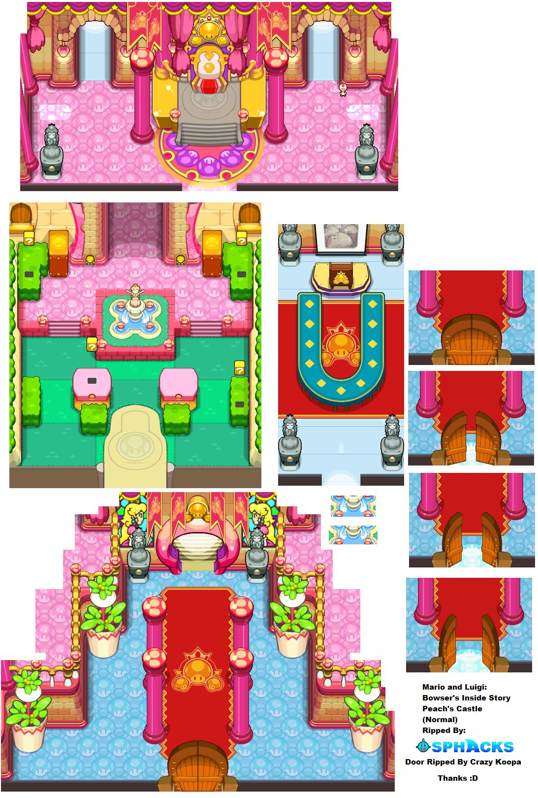 Ds Dsi Mario Amp Luigi Bowser S Inside Story Peach S
