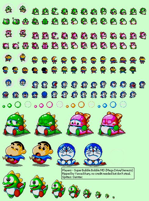 Genesis 32x Scd Super Bubble Bobble Md Bootleg