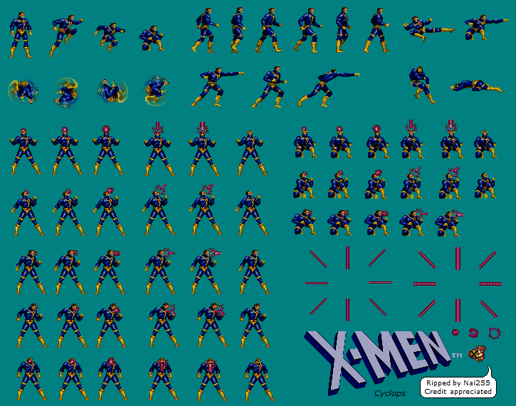 X Men Sprite