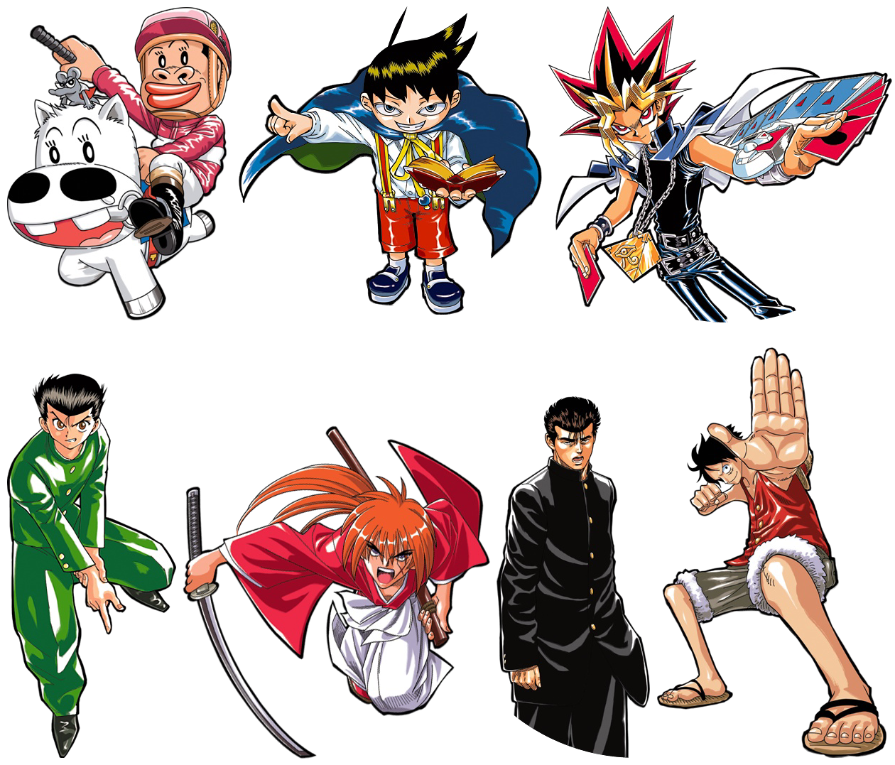 The Spriters Resource Full Sheet View Jump Ultimate Stars Protagonists Part 5