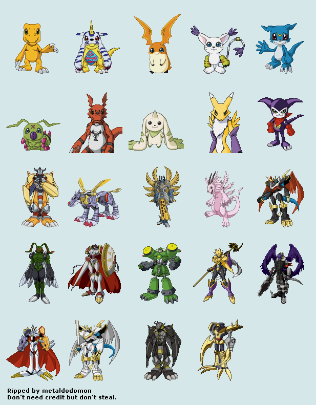 Digimon Renders