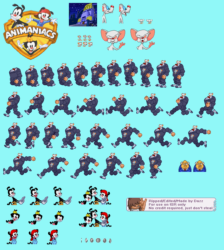 Animaniacs Sprites Images - Reverse Search