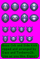 Boss Orb and Side Kick