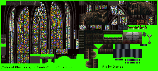 Tales of Phantasia - Fenrir Church Interior