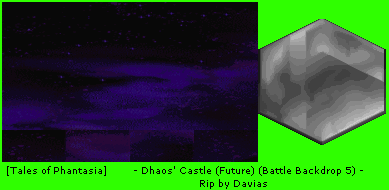 Dhaos' Castle (Future) (Battle Backdrop 5)