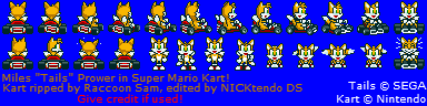 Tails (Super Mario Kart-Style)