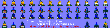 Chao 2 (Super Mario Kart-Style)