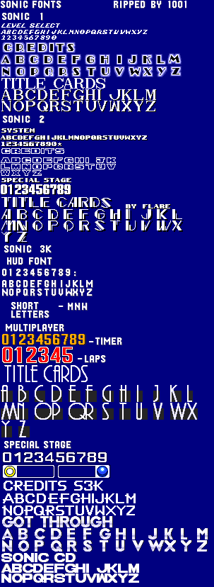 Sonic 1 Title Font Related Keywords & Suggestions - Sonic 1