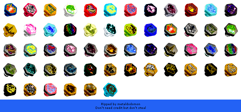 The Spriters Resource Full Sheet View Beyblade Metal Fusion Battle Fortress Face