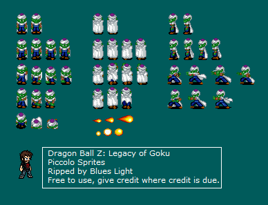 Game Boy Advance Dragon Ball Z The Legacy Of Goku Piccolo The
