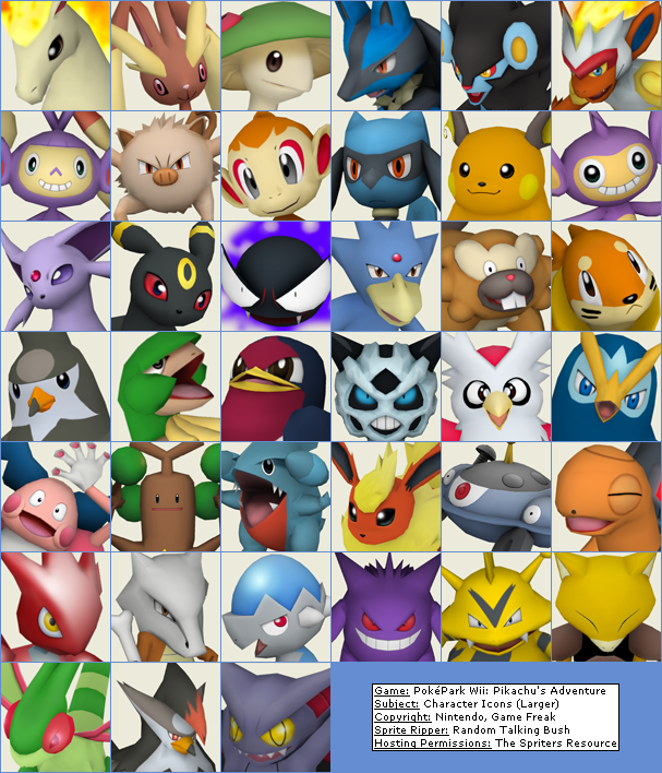 Character Icons (Larger)
