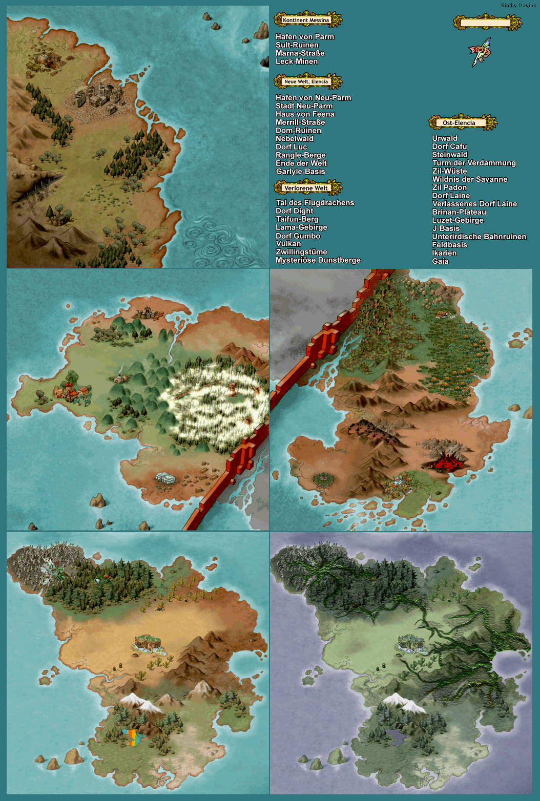 The Spriters Resource - Full Sheet View - Grandia ...