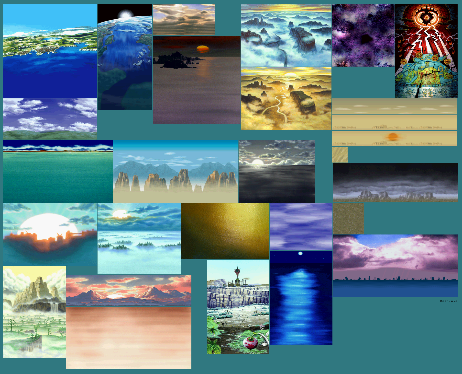 Miscellaneous Backgrounds