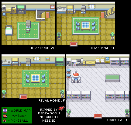 Pallet Town Interiors
