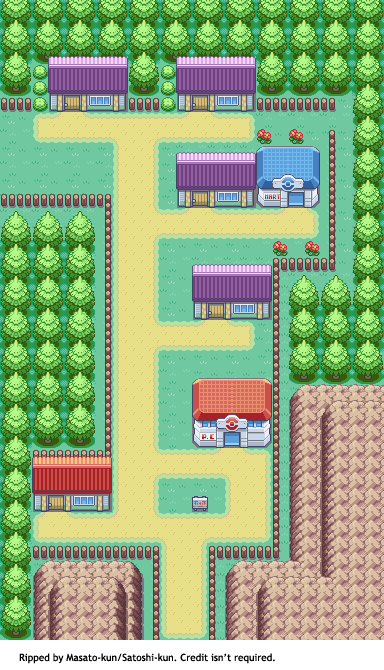 Pokémon FireRed / LeafGreen - Three Island