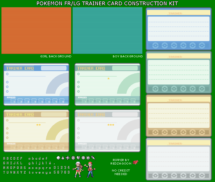 Trainer Card Kit
