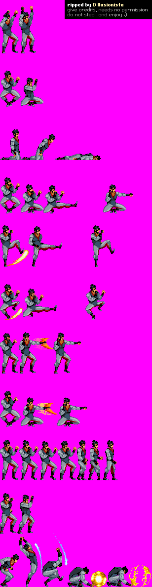 New Double Dragon Sprite Rips