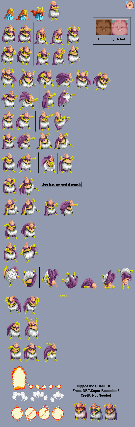 Dbz Snes Sprites Pictures To Pin On Pinterest Pinsdaddy