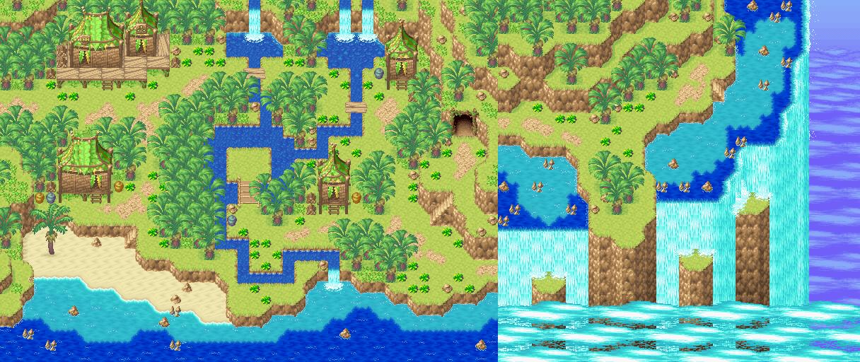 Game Boy Advance - Golden Sun 2: The Lost Age - Apojii Islands ...