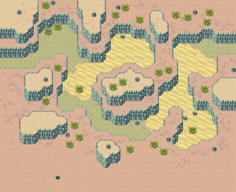 Game Boy Advance - Golden Sun 2: The Lost Age - Yampi Desert #1 ...