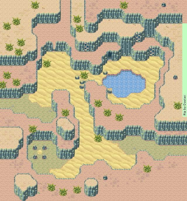 Golden Sun 2 World Map.Game Boy Advance Golden Sun 2 The Lost Age Yampi Desert 2