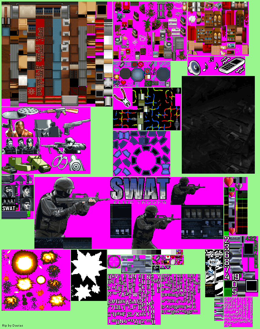 Tile Sets, SFX, Title & Miscellaneous