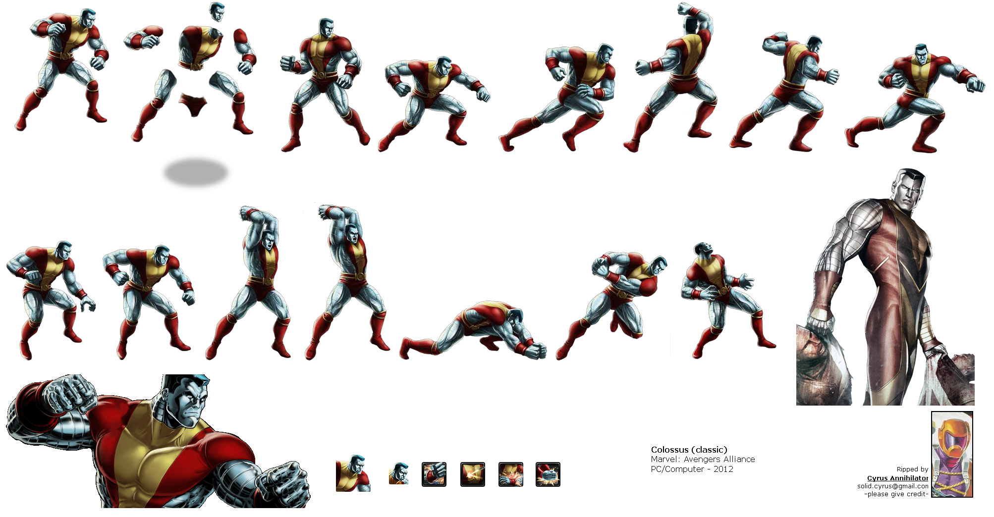 Marvel: Avengers Alliance - Colossus (Classic)