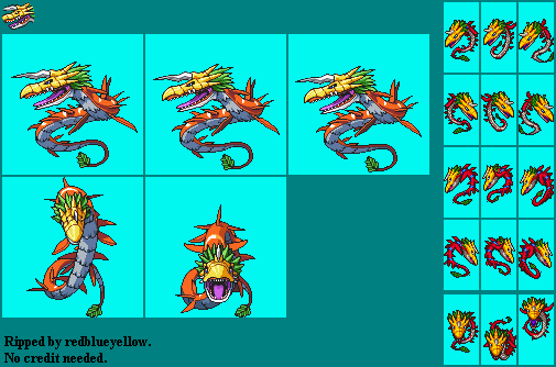 DS - Digimon World DS - MegaSeadramon - The Spriters Resource