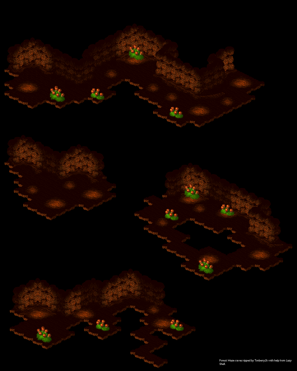 Forest Maze (Caves)