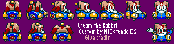 Cream (Sonic Drift) (Super Mario Kart-Style)