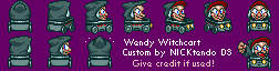 Wendy Witchcart (Super Mario Kart-Style)
