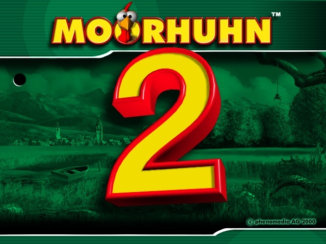 Moorhuhn 2 - Main Screen