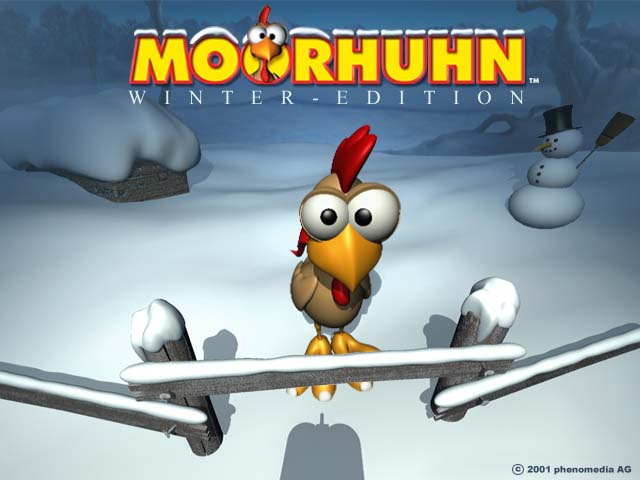 moorhuhn winter edition