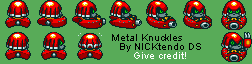Metal Knuckles (Sonic Drift) (Super Mario Kart-Style)
